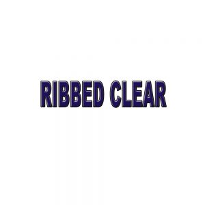 Ribbed Clear