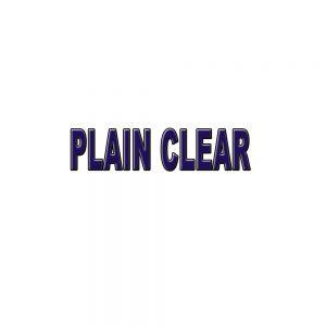 Plain Clear